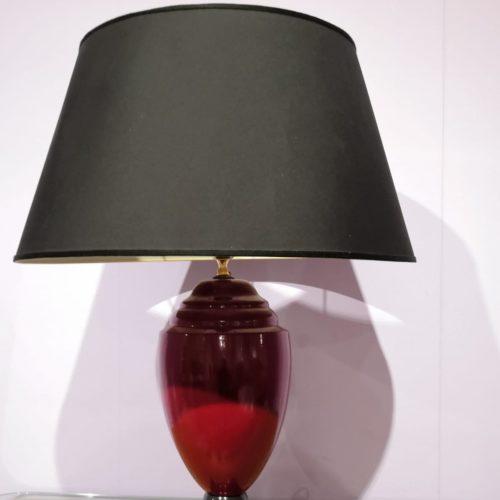 lume di ceramica stile vintage
